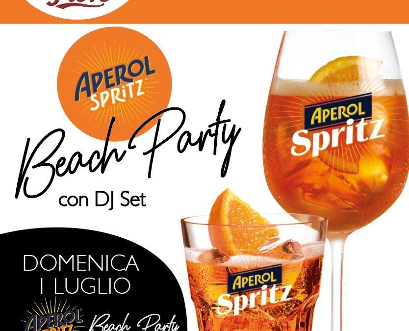 Aperol Spritz Beach party ai Mirage tutte le domeniche