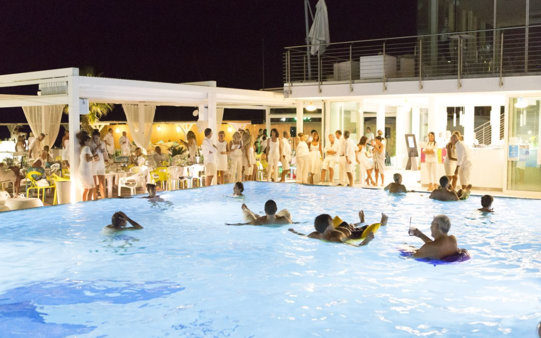 Primo pool party del 2018 e un Week end golosissimo