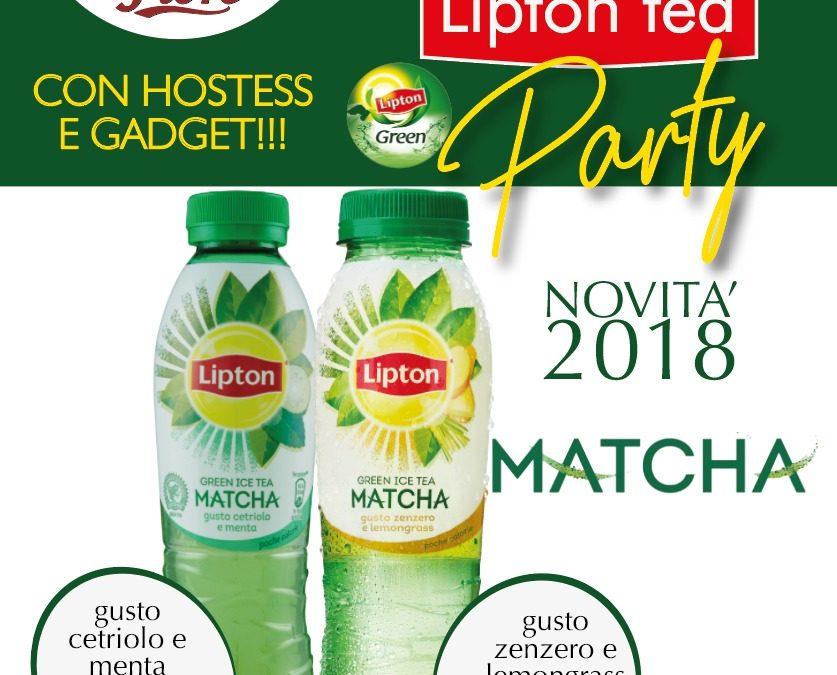 7 luglio – Lipton tea Party